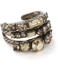 Sorrelli - Triple Threat Ring - Lyst