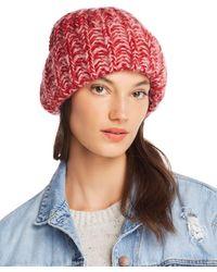 Aqua Marled Rib - Knit Beanie