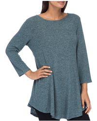 B Collection By Bobeau - Brushed Tunic Top - Lyst