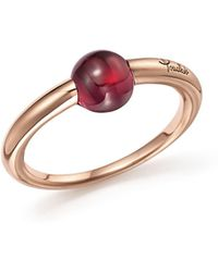 Pomellato - M'ama Non M'ama Ring With Rhodolite Garnet In 18k Rose Gold - Lyst