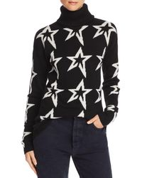 Perfect Moment - Merino Wool Turtleneck Star Sweater - Lyst