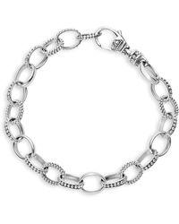 Lagos - Sterling Silver Links Bracelet - Lyst