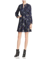 Whistles - Galaxy-print A-line Dress - Lyst