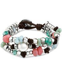 Uno De 50 - Caribbean Pearl Bracelet - Lyst