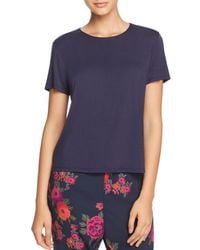 Natori - Feather Elements Short Sleeve Tee - Lyst