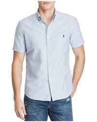Polo Ralph Lauren - Cotton Oxford Classic Fit Button-down Shirt - Lyst