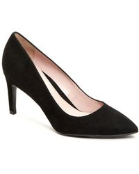 Taryn Rose - Women's Gabriela Suede Pointed Toe Pumps - Lyst
