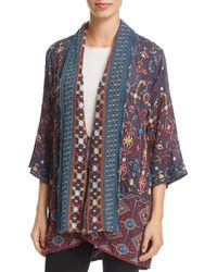 Johnny Was - Waverly Embroidered Kimono - Lyst