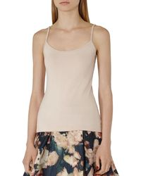 Reiss - Camellia Jersey Camisole - Lyst