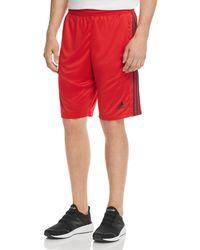 adidas Originals - D2m Three Stripe Shorts - Lyst