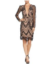 Dress the Population - Jamie Embellished Dress - Lyst