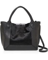 Botkier - Perry Small Calf Hair & Leather Tote - Lyst