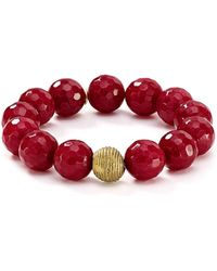 Bourbon and Boweties - Beaded Stretch Bracelet - Lyst