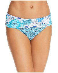 Bleu Rod Beattie - Sarong Hipster Bikini Bottom - Lyst