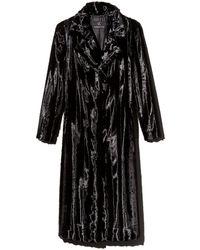 Unreal Fur - Velvet Underground Long Faux Fur Coat - Lyst
