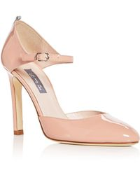 SJP by Sarah Jessica Parker - Women's Campbell Patent Leather Mary Jane Pumps - Lyst