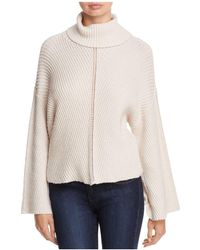 Cupcakes And Cashmere Randy Bell Sleeve Turtleneck Jumper