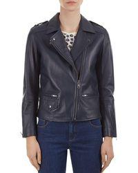 Gerard Darel - Valeria Leather Moto Jacket - Lyst
