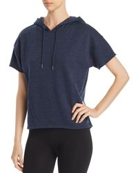 Marc New York - Performance Hooded French Terry Sweatshirt - Lyst