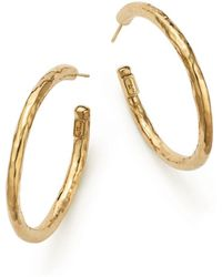 Ippolita - 18k Yellow Gold Glamazon #3 Hoop Earrings - Lyst