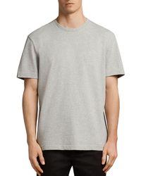 AllSaints - Monta Short Sleeve Solid Tee - Lyst