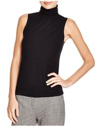 Theory - Wendel Ribbed Turtleneck Top - Lyst