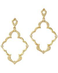 Armenta - 18k Yellow Gold Sueno Dulcinea Diamond Cravelli Earrings - Lyst