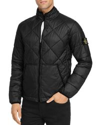 Stone Island - Garment-dyed Quilted Ripstop Puffer Jacket - Lyst