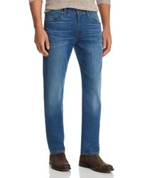 PAIGE - Federal Straight Slim Jeans In Bales - Lyst