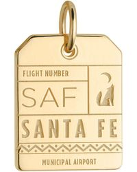 Jet Set Candy - Saf Santa Fe New Mexico Luggage Tag Charm - Lyst