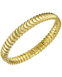 Chimento - 18k Yellow Gold Armillas Collection Ridge Curve Bracelet - Lyst