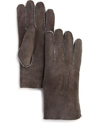 Bloomingdale's - Three-cord Shearling Glove - Lyst