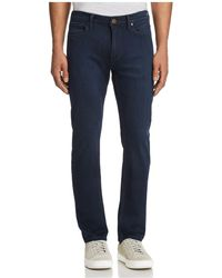 PAIGE - Lennox Skinny Fit Jeans In Bruce - Lyst