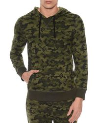 2xist - 2(x)ist Camouflage Terry Pullover Hoodie Lounge Sweatshirt - Lyst