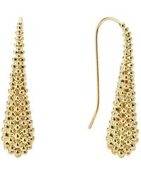 Lagos - Caviar Gold Collection 18k Gold Drop Earrings - Lyst