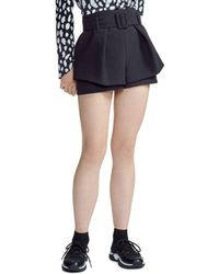 Maje - Ikaren High-waist Shorts - Lyst