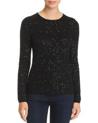 C By Bloomingdale's - Sequined Cashmere Jumper - Lyst