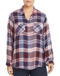 Lucky Brand - Plaid Shirt - Lyst