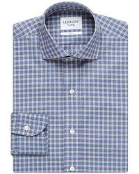 Ledbury   Montebello Check Slim Fit Dress Shirt   Lyst