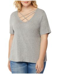 REBEL WILSON X ANGELS - Crossover-neck Tee - Lyst