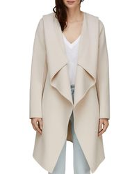 SOIA & KYO - Exaggerated Shawl Collar Coat - Lyst