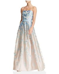 Eliza J - Floral Ball Gown - Lyst