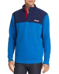 Vineyard Vines - Mixed-media Pullover Sweatshirt - Lyst
