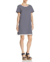 Beach Lunch Lounge - Striped Tee Dress - Lyst