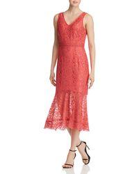 Nanette Nanette Lepore - Illusion Lace Dress - Lyst