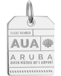 Jet Set Candy - Aua Aruba Luggage Tag Charm - Lyst