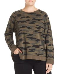 Lucky Brand - Camo Print Sweatshirt - Lyst