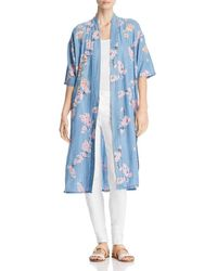 Billy T - Lightweight Cherry Blossom Duster Jacket - Lyst