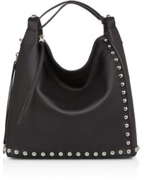 AllSaints - Cami Studded Leather Backpack - Lyst