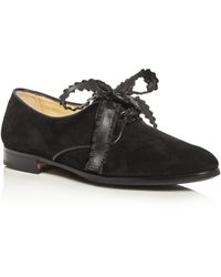 Sarah Flint - Kerri Ribbon Lace Up Oxfords - Lyst